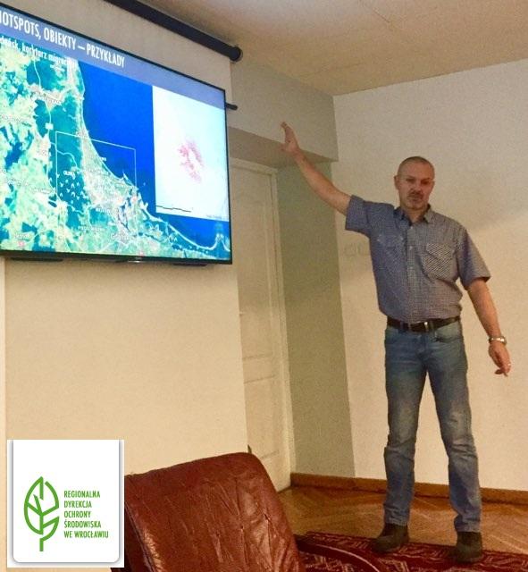 Prelekcja dla pracowników Regionalnej Dyrekcji Ochrony Środowiska we Wrocławiu