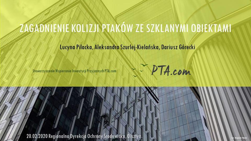 Daliśmy wykład w olsztyńskiej Regionalnej Dyrekcji Ochrony Środowiska